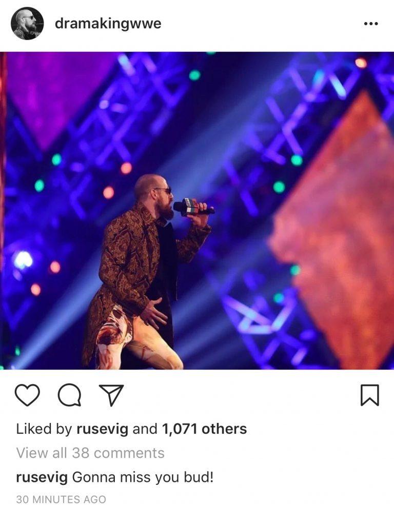 Rusev teases WWE departure