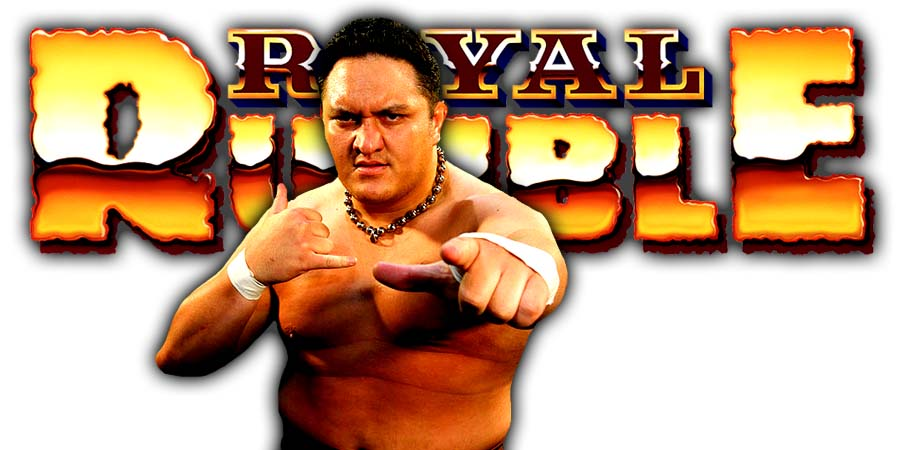 Samoa Joe Greatest Royal Rumble