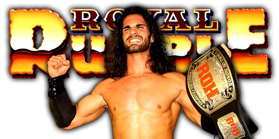Seth Rollins Greatest Royal Rumble Intercontinental Title Ladder Match
