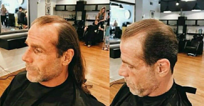 Shawn Michaels Cuts His Hair