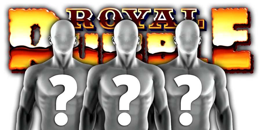 Surprise Entrants Royal Rumble