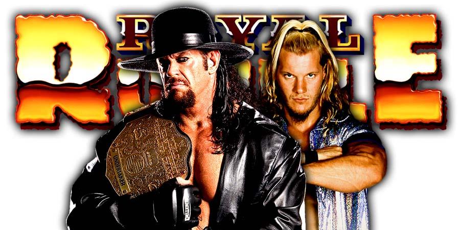 The Undertaker Chris Jericho Casket Match Greatest Royal Rumble