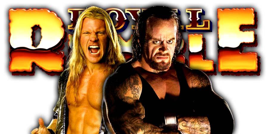 The Undertaker Chris Jericho Greatest Royal Rumble 2018