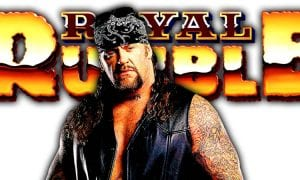 The Undertaker Greatest Royal Rumble Casket Match Rusev