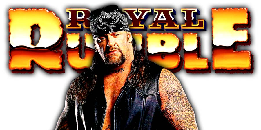 The Undertaker Greatest Royal Rumble Casket Match Rusev