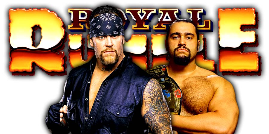 The Undertaker Rusev Greatest Royal Rumble Casket Match