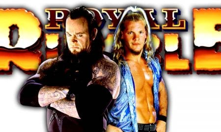The Undertaker vs. Chris Jericho Cancelled For Greatest Royal Rumble
