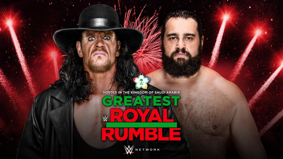 The Undertaker vs. Rusev - Casket Match (Greatest Royal Rumble)