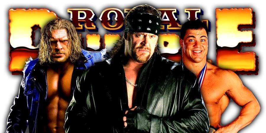 Triple H The Undertaker Kurt Angle Greatest Royal Rumble