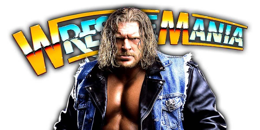 Triple H WrestleMania 34