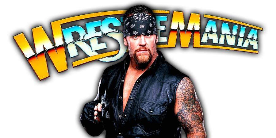 Undertaker WrestleMania 34