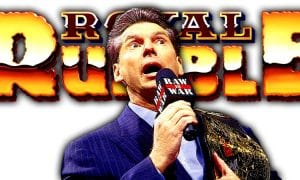 Vince McMahon Greatest Royal Rumble