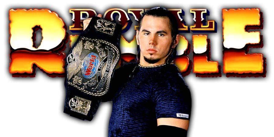 WOKEN Matt Hardy Greatest Royal Rumble