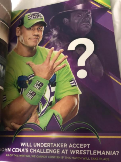 WWE Promoting The Undertaker vs. John Cena For WrestleMania 34 Through Posters In New Orleans