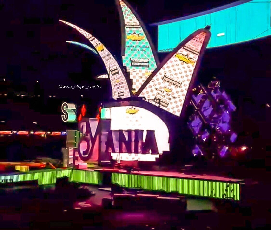 WrestleMania 34 Stage Completed