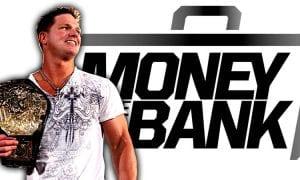 AJ Styles Money In The Bank 2018 Last Man Standing Match