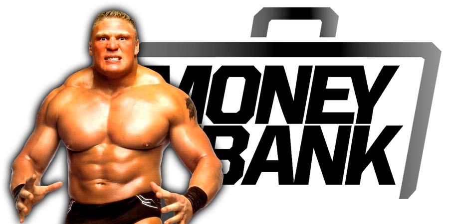 Brock Lesnar Money In The Bank 2018