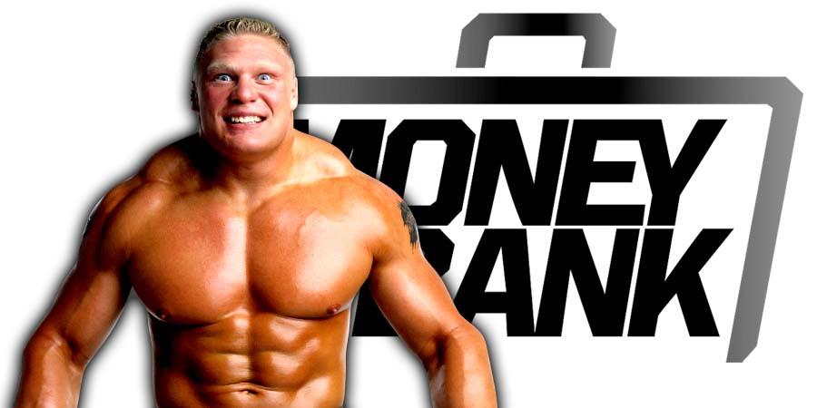 Brock Lesnar Not Wrestling At Money In The Bank 2018