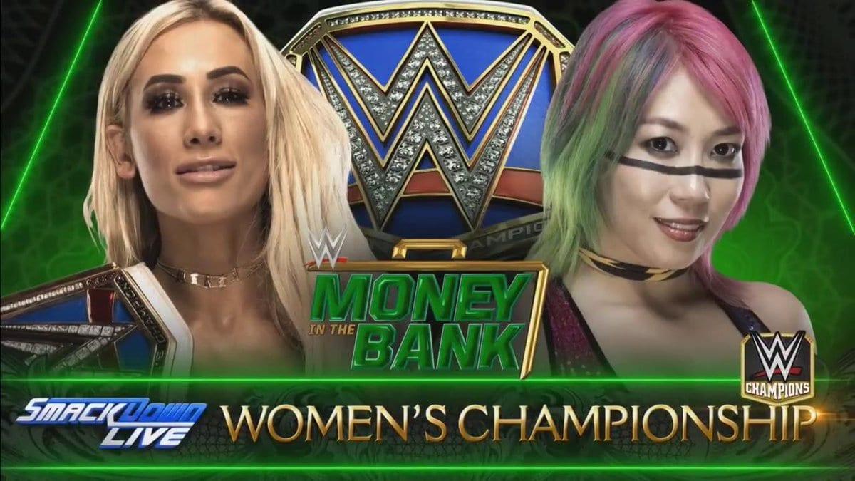 Carmella vs. Asuka - Money In The Bank 2018 (SmackDown Women's Championship)
