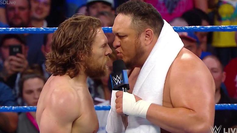 Daniel Bryan vs. Samoa Joe SmackDown Live 2018
