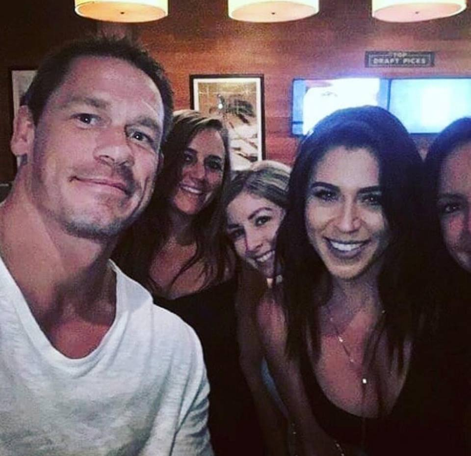 John Cena Growing Facial Hair 2018