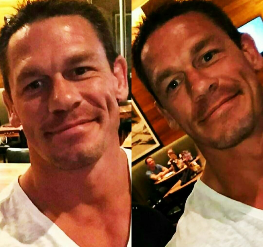 John Cena Growing Facial Hair