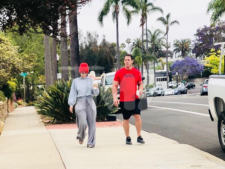 John Cena & Nikki Bella spotted together in San Diego after breakup