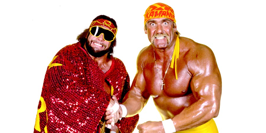 Mega Powers - Hulk Hogan & Randy Savage