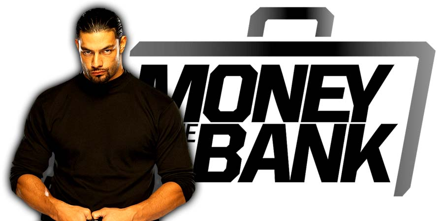 Roman Reigns Money In The Bank 2018 PPV