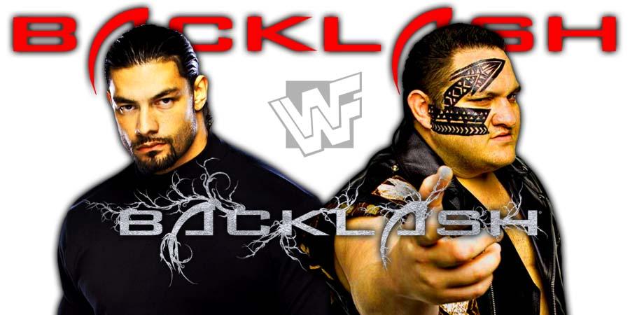 Roman Reigns vs. Samoa Joe Backlash 2018