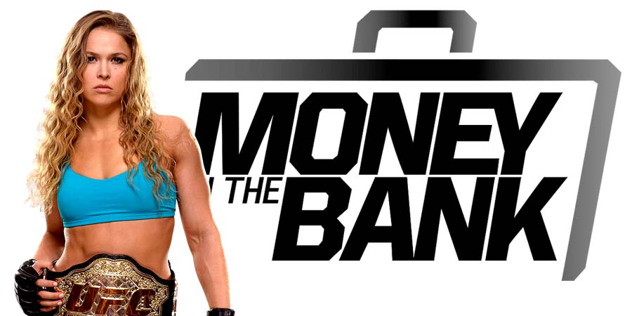 Ronda Rousey going after the RAW Women's Championship at Money In The Bank 2018 PPV