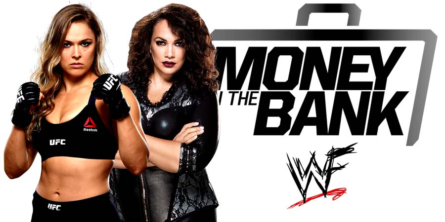 Ronda Rousey vs. Nia Jax - Raw Women's Championship (Money In The Bank 2018 PPV)