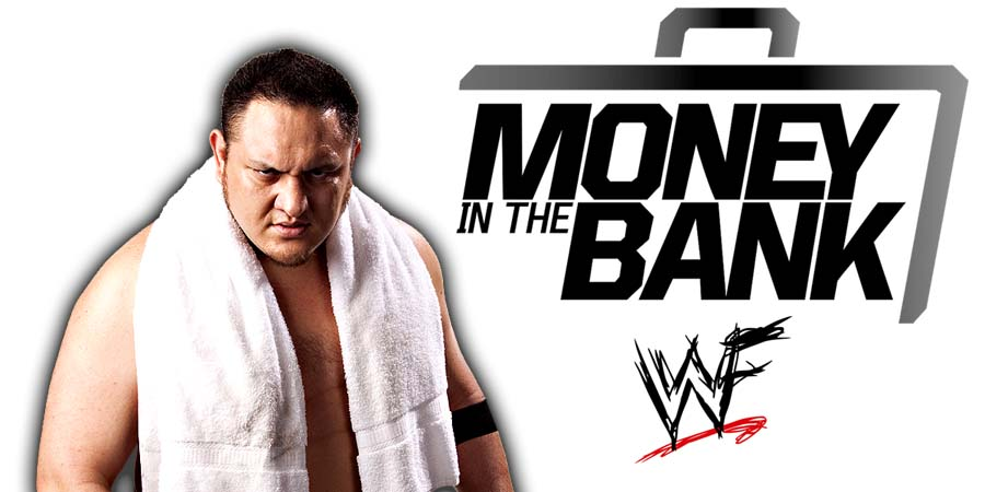 Samoa Joe Money In The Bank
