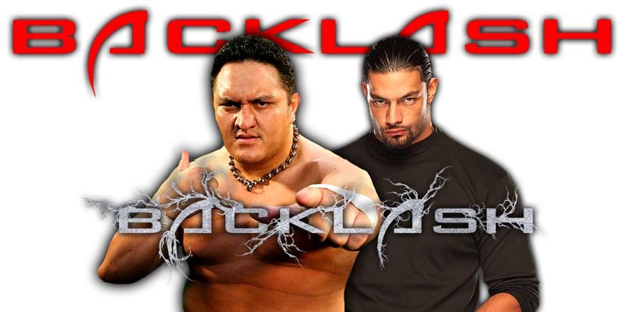 Samoa Joe vs. Roman Reigns Backlash 2018
