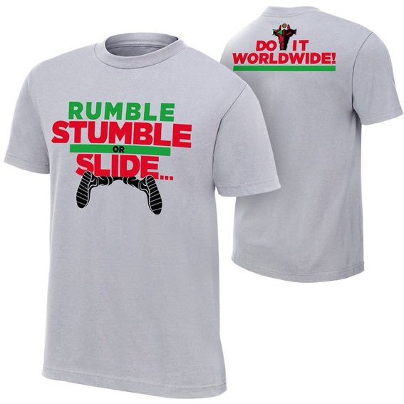 Titus O'Neil Gets A T-Shirt For His Greatest Royal Rumble Botch