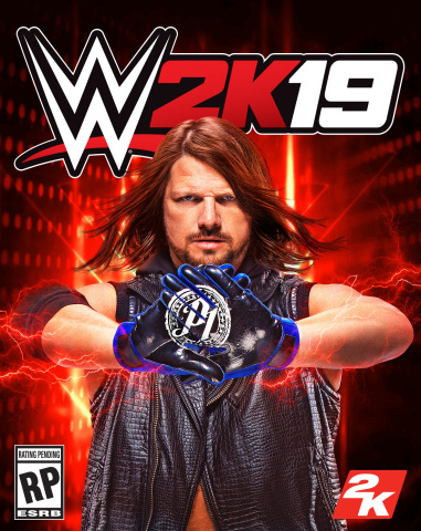AJ Styles WWE 2K19 Official Cover