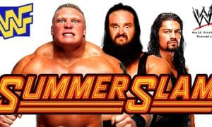 Brock Lesnar Roman Reigns Braun Strowman SummerSlam 2018