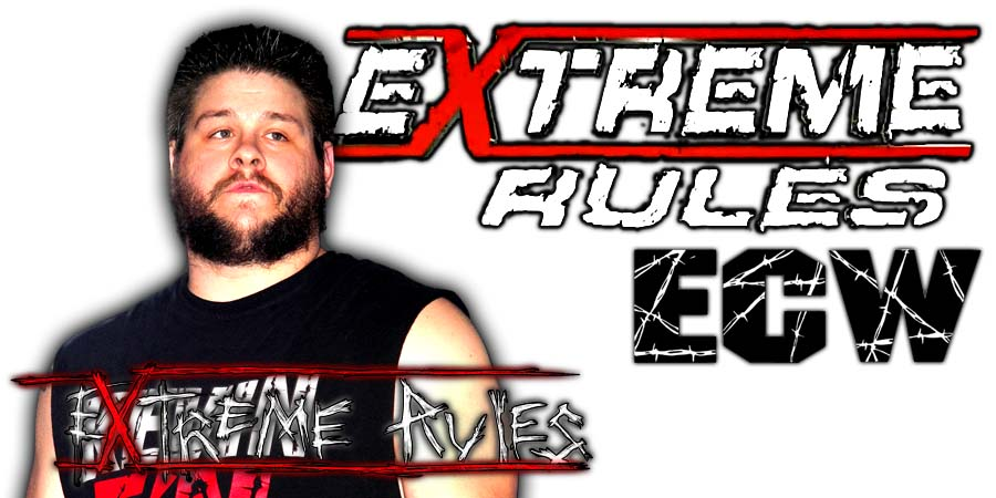 Kevin Owens Extreme Rules 2018