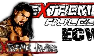 Roman Reigns Extreme Rules 2018
