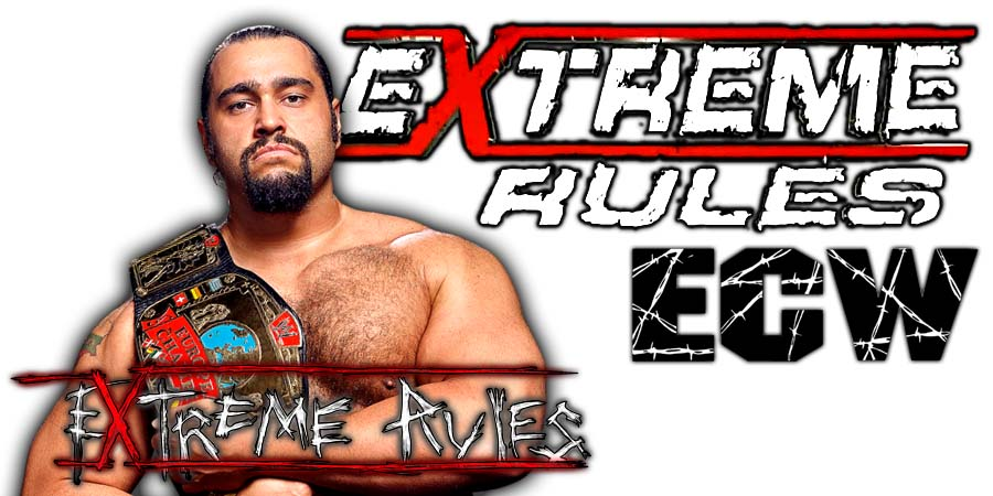 Rusev Extreme Rules 2018