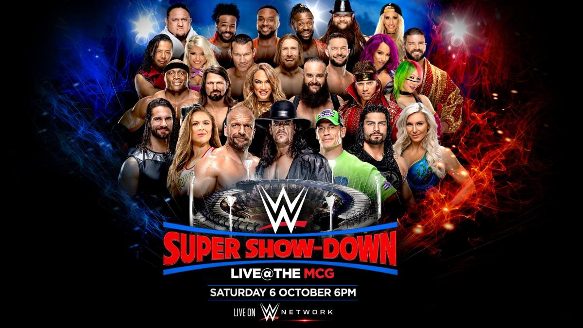 The Undertaker vs. Triple H for the 'Last Time Ever' at WWE Super Show-Down In Australia 2018