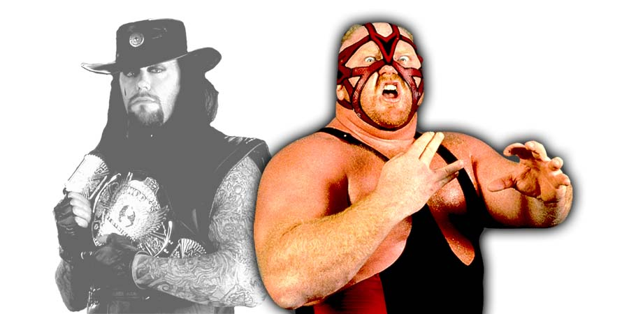 Vader The Undertaker Good Morning Kuwait Incident WWF April 1997