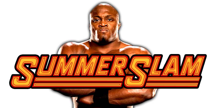 Bobby Lashley SummerSlam 2018
