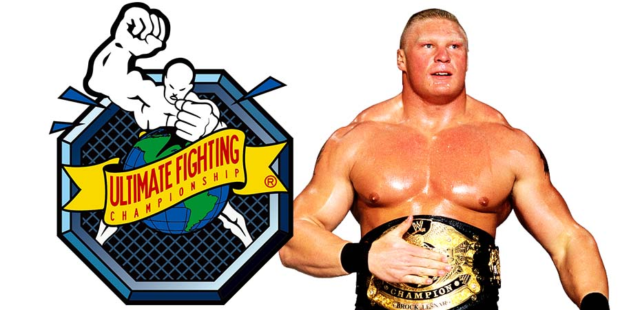 Brock Lesnar WWE Champion UFC