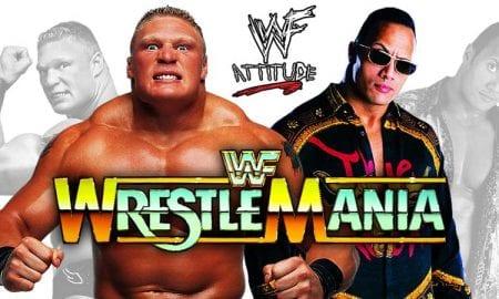 Brock Lesnar vs. The Rock - WrestleMania 35