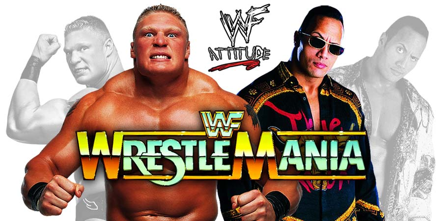 Brock Lesnar vs. The Rock - WrestleMania 35