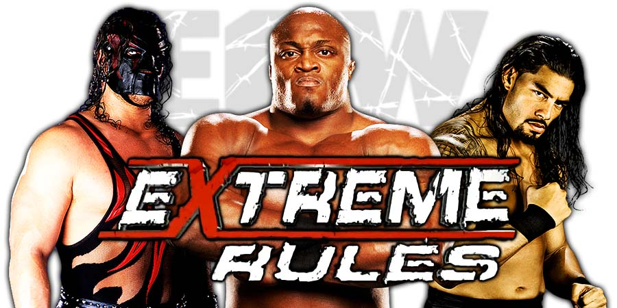 Extreme Rules 2018 Live Coverage & Results