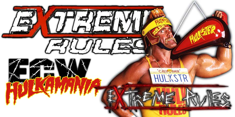 Hulk Hogan Apologizes To WWE Roster Backstage At Extreme Rules 2018
