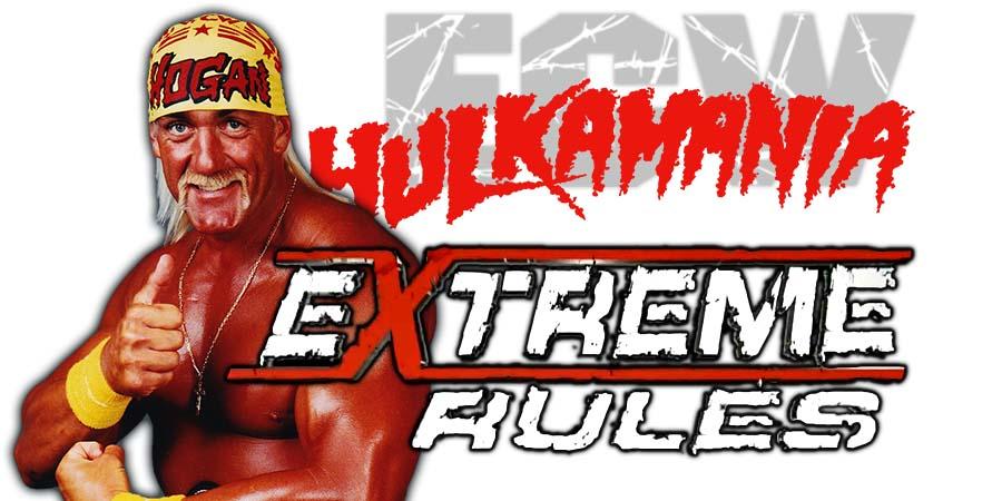 Hulk Hogan Backstage At Extreme Rules 2018, Gets Emotional While Meeting WWE Stars