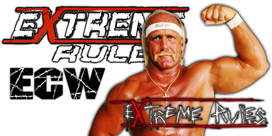 Hulk Hogan Extreme Rules 2018 PPV Return